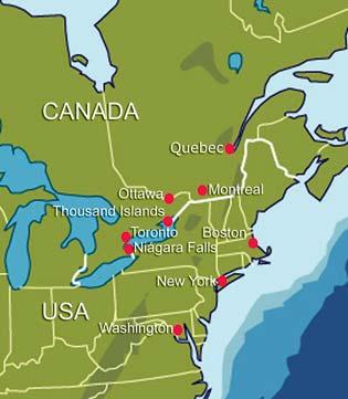Mapas De Canada - Canada mapa